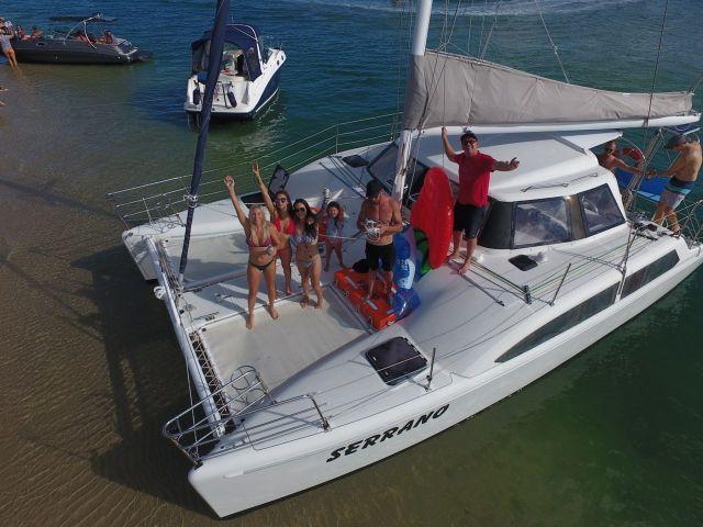 serrano Boat topdown view