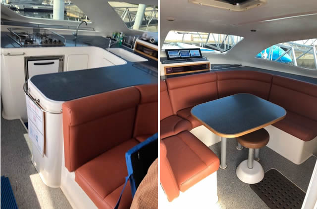 (5a) Jacana - Galley & lounge combined